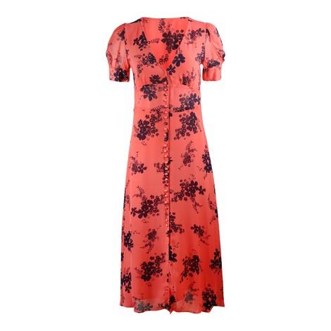 Michael Kors Puff Sleeve Midi Dress