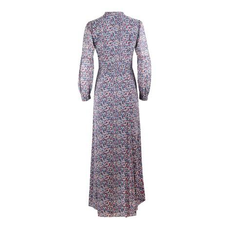 Michael Kors Floral Maxi Shirt Dress