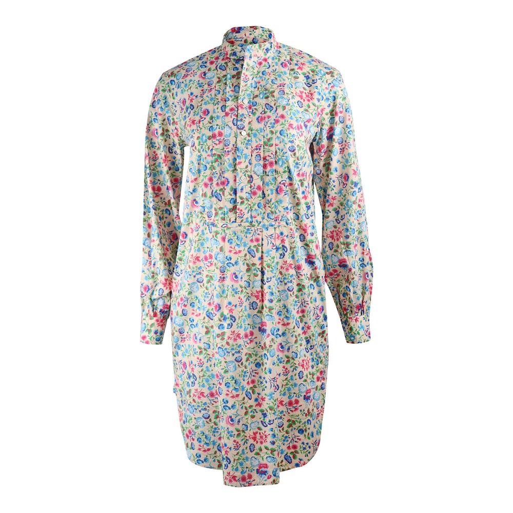 Ralph Lauren Womenswear Longsleeve Floral Tunic Dress Multi