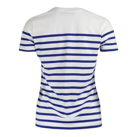 Ralph Lauren Womenswear Striped Love Tee