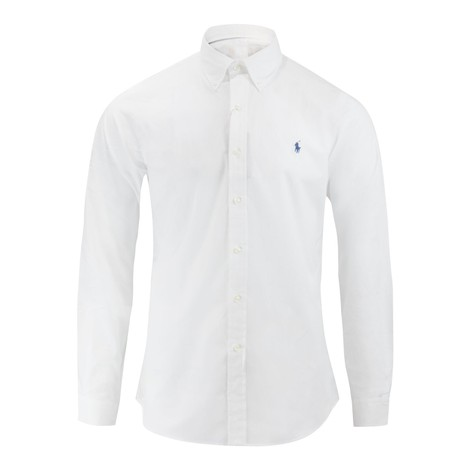 Ralph Lauren Menswear PPC SPT - Natural Stretch Slim Fit Poplin Shirt
