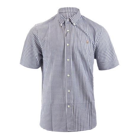 Ralph Lauren Menswear Short Sleeve 55/2 Oxford Pique Shirt