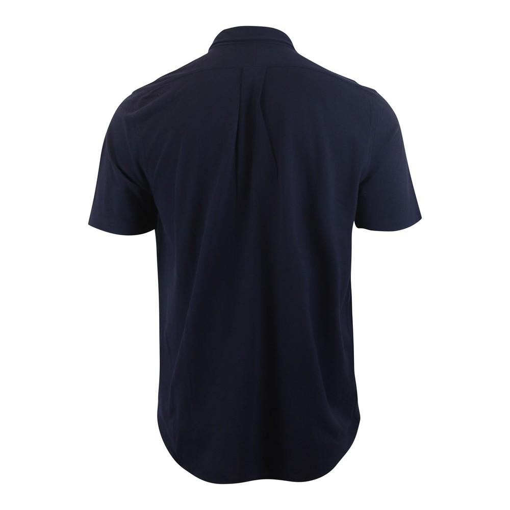 Ralph Lauren Menswear Short Sleeve Featherweight Mesh Shirt Navy