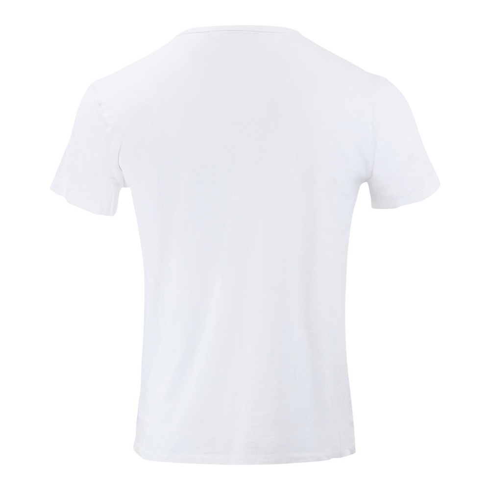 Ralph Lauren Menswear Short Sleeve Slub Jersey T-shirt White
