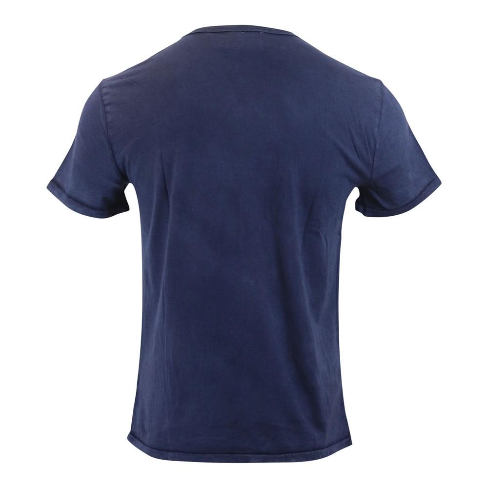 Ralph Lauren Menswear Short Sleeve Slub Jersey T-shirt Navy