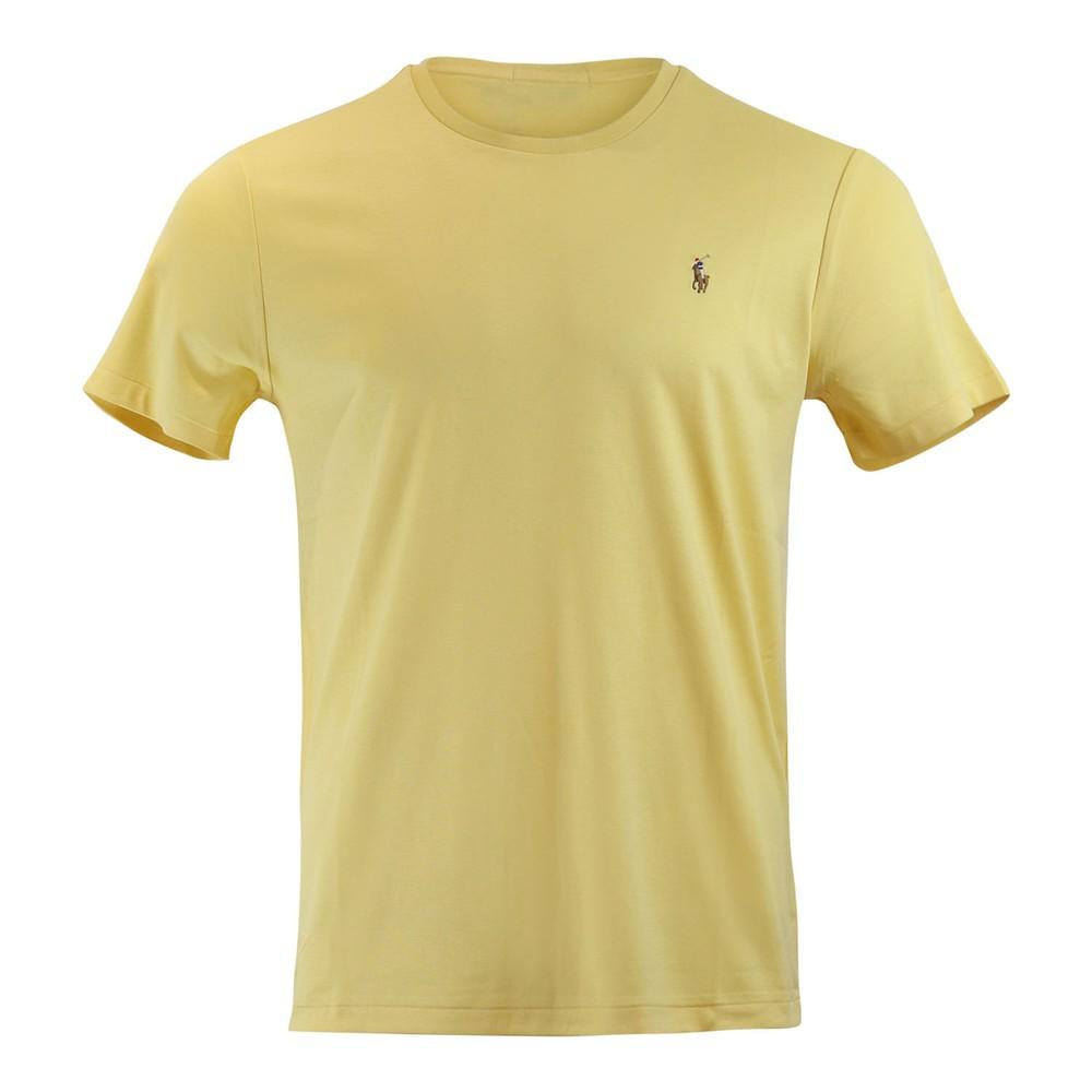 Ralph Lauren Menswear Short Sleeve Pima Tee Yellow
