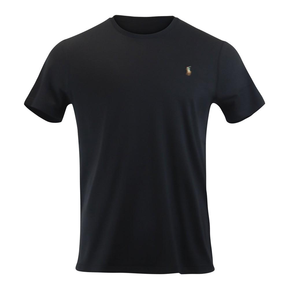 Ralph Lauren Menswear Short Sleeve Pima Tee Black