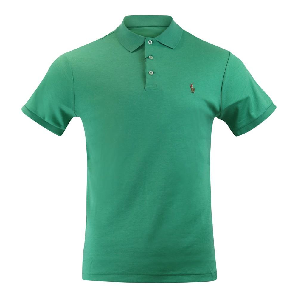 Ralph Lauren Menswear Pima Polo SS Green