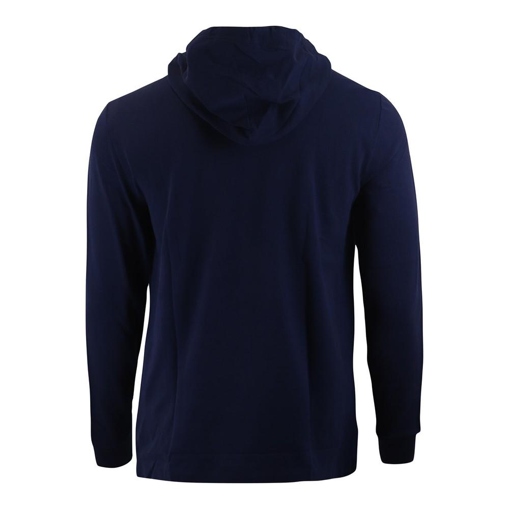 Ralph Lauren Menswear Long Sleeve Knit Basic Mesh Hoodie Navy