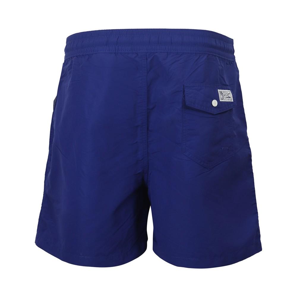 Ralph Lauren Menswear Classic Swim Shorts Royal Blue