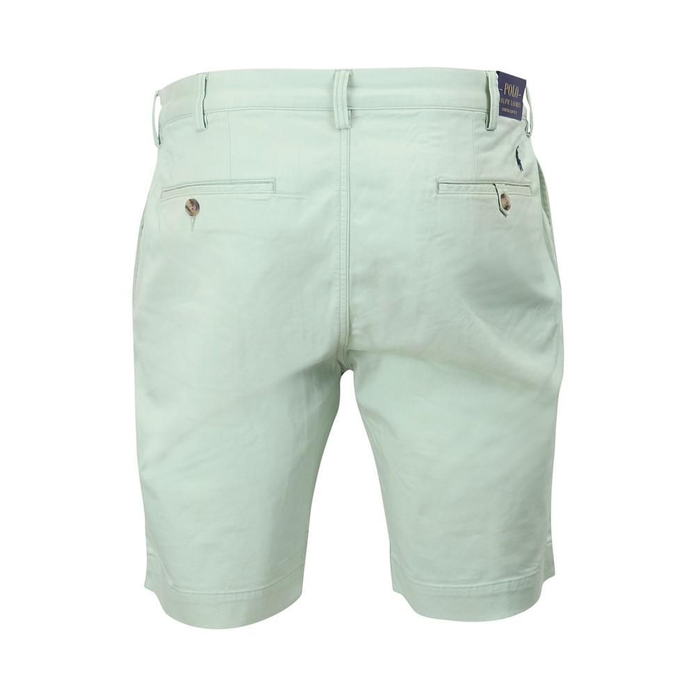 Ralph Lauren Menswear Bedford Stretch Cotton Shorts Green
