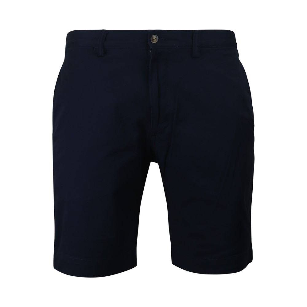 Ralph Lauren Menswear Bedford Stretch Cotton Shorts Navy