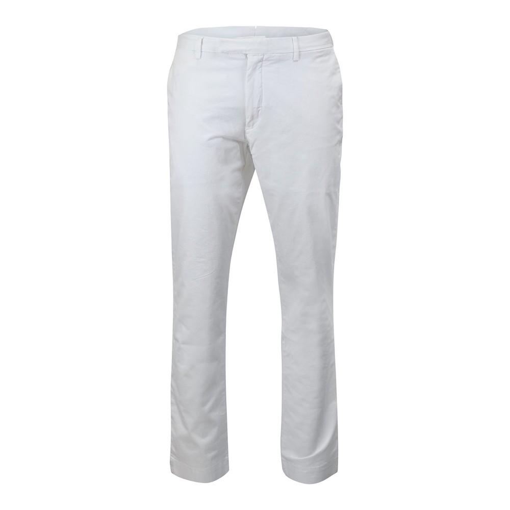 Ralph Lauren Menswear Slim Fit Stretch Military Chino White
