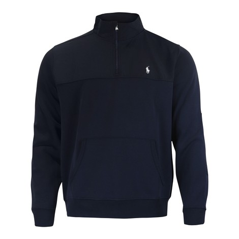 Ralph Lauren Menswear Double Tech Knit 1/4 Zip Jumper
