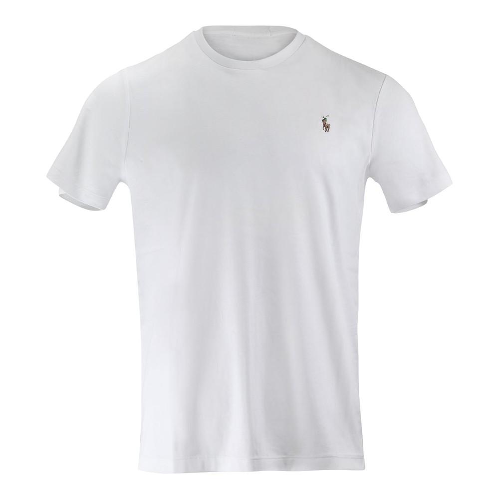 Ralph Lauren Menswear Short Sleeve Pima Tee White