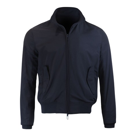Emporio Armani Windbreaker With Ribbed Cuffs