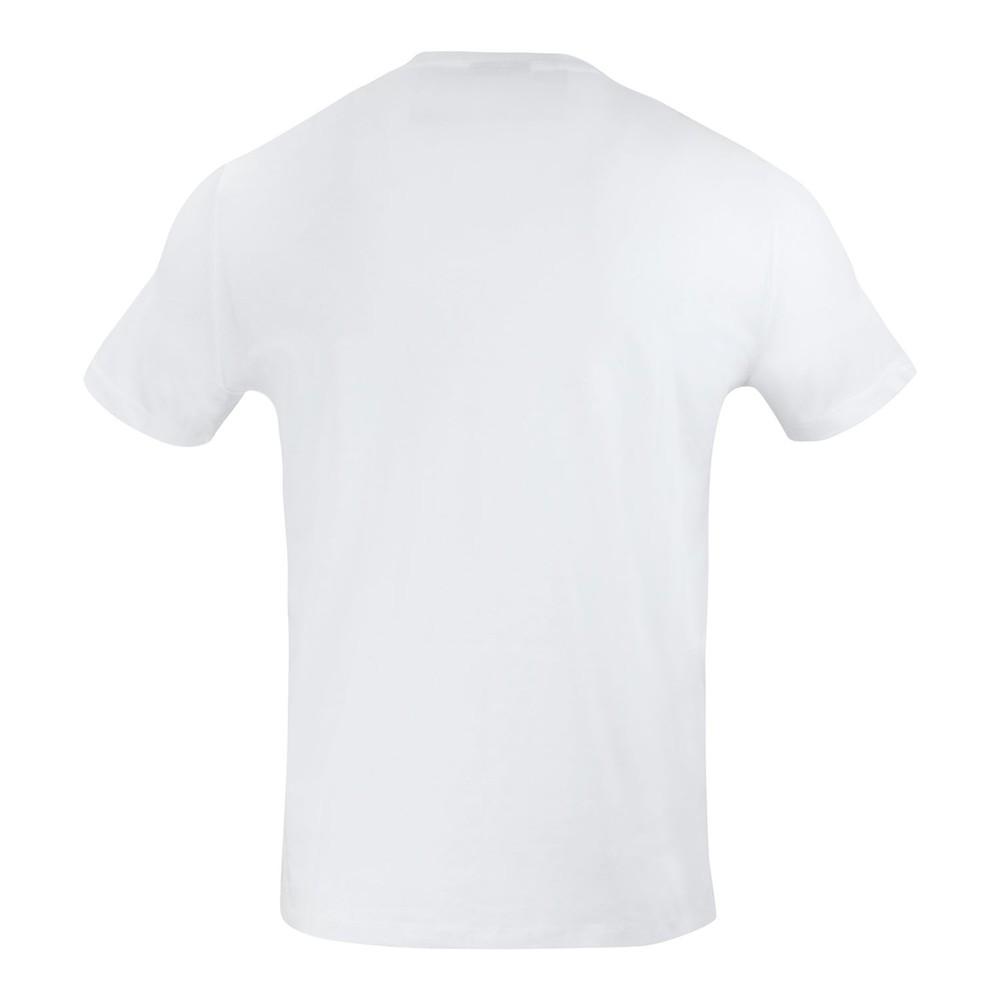 Emporio Armani Armani Logo Print Tee White