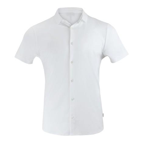 Emporio Armani Short Sleeve Cotton Jersey Shirt