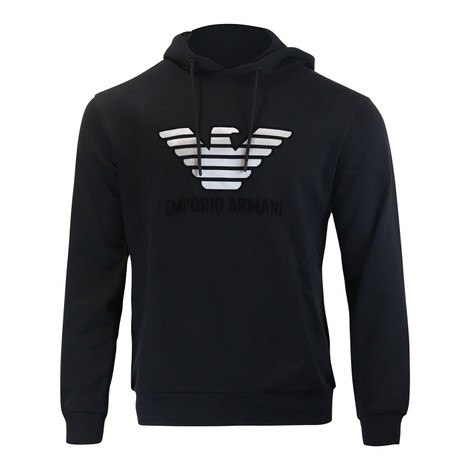 Emporio Armani Hoody With Velvet Logo