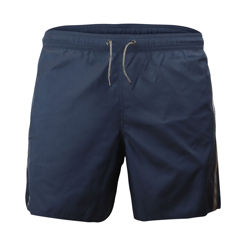 Emporio Armani Swim Shorts With Tape Navy