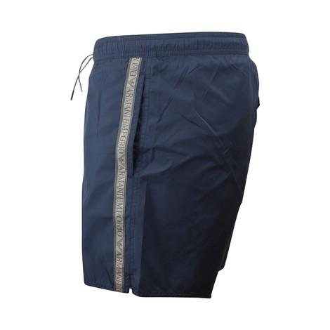 Emporio Armani Swim Shorts With Tape
