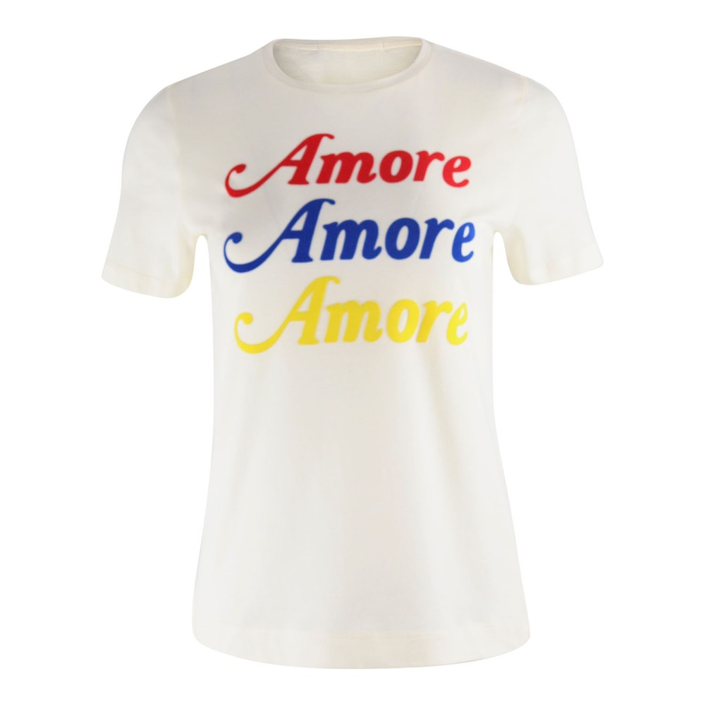 Chinti & Parker Amore Tee White
