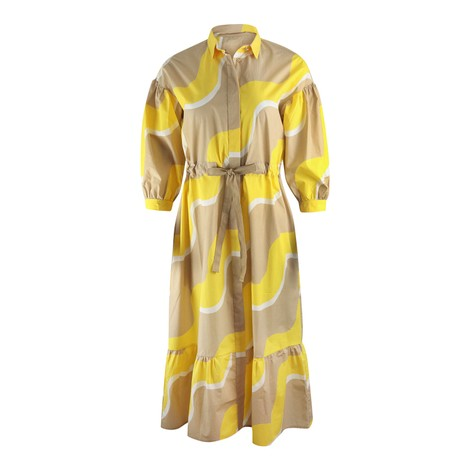 Chinti & Parker Wave Shirt Dress