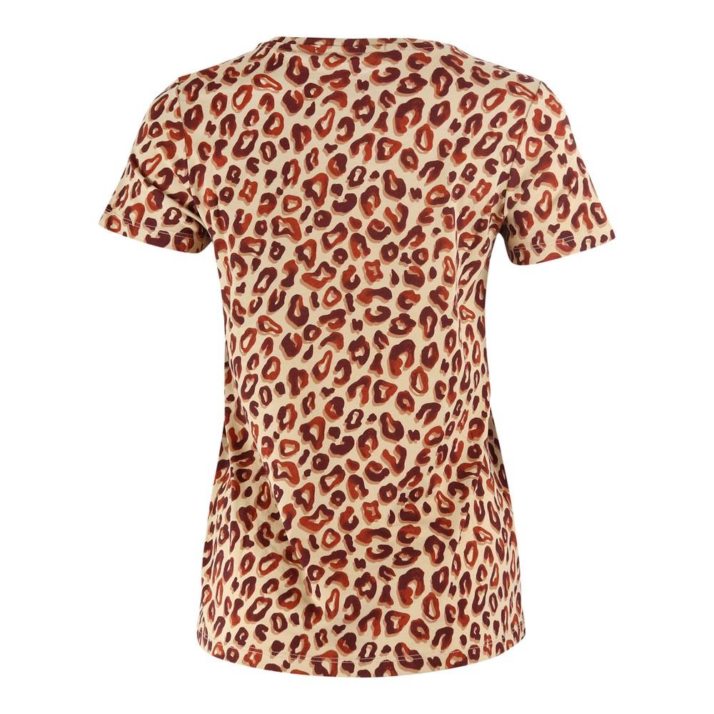 Scotch & Soda Printed Boxy Fit T-Shirt Animal Print
