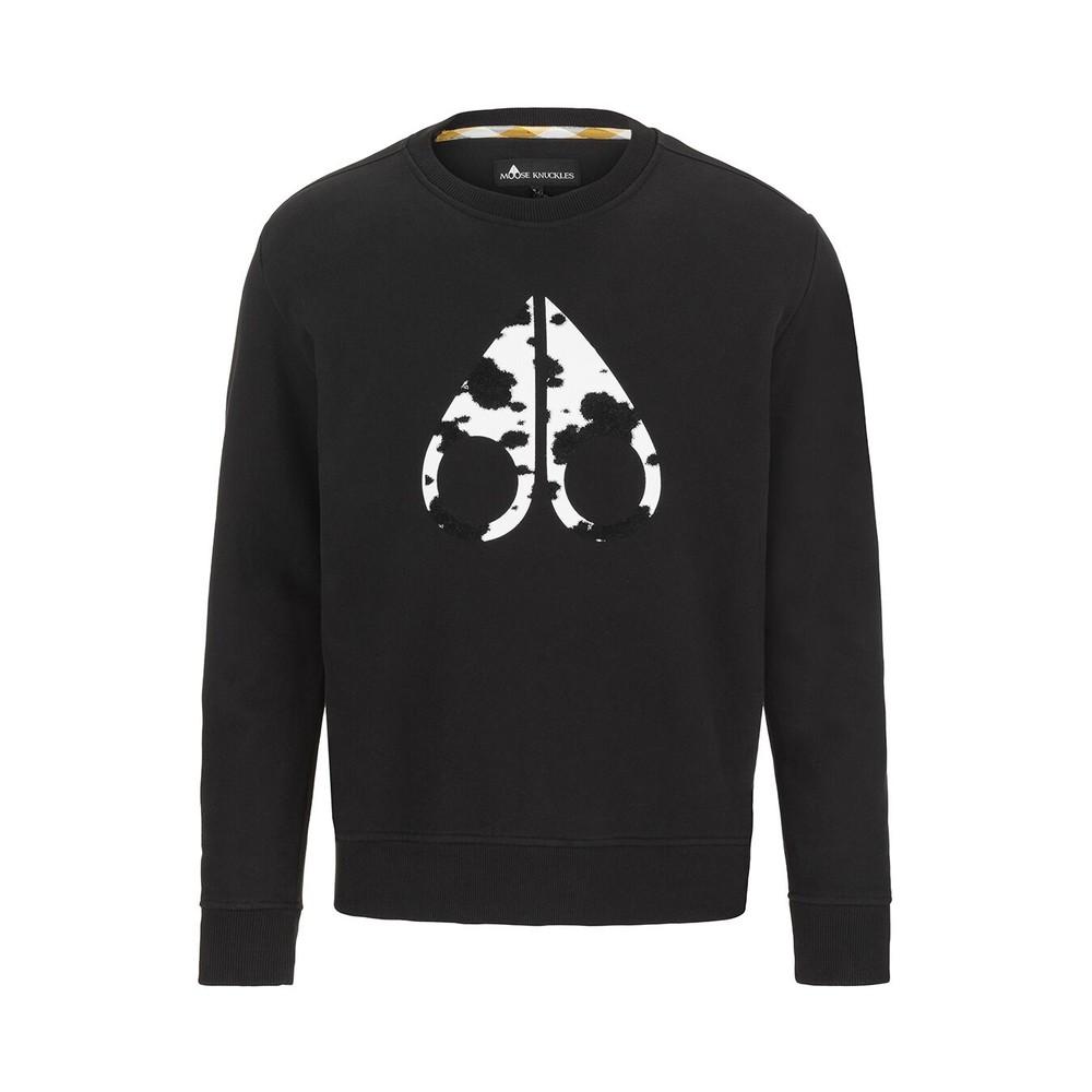 Moose Knuckles Whitehorn Sweatshirt Black