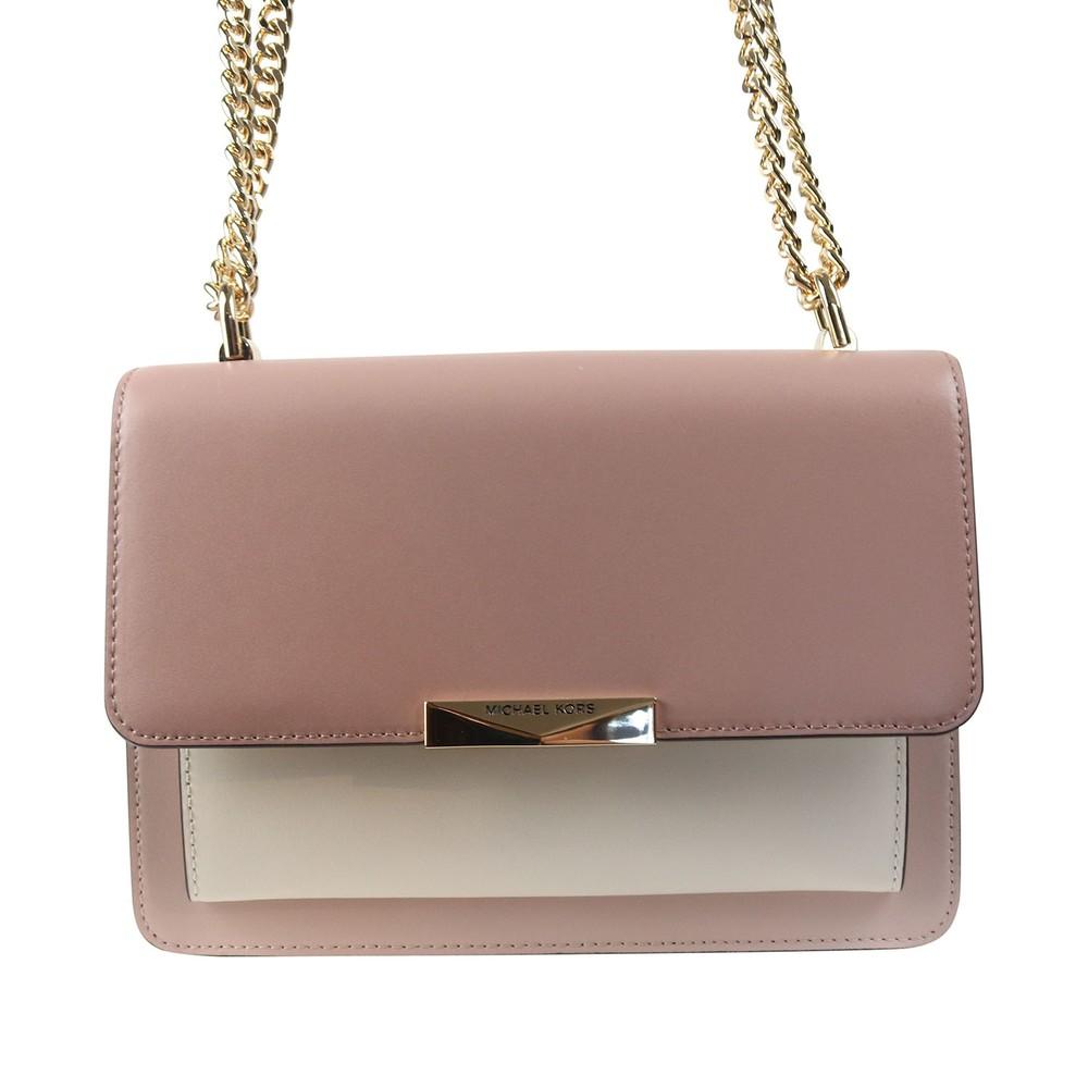 Michael Kors Gusset Shoulder Bag Pink
