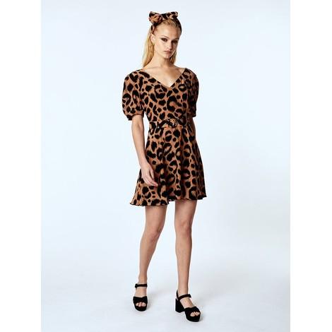Hayley Menzies Ikat Mini Dress With Matching Belt