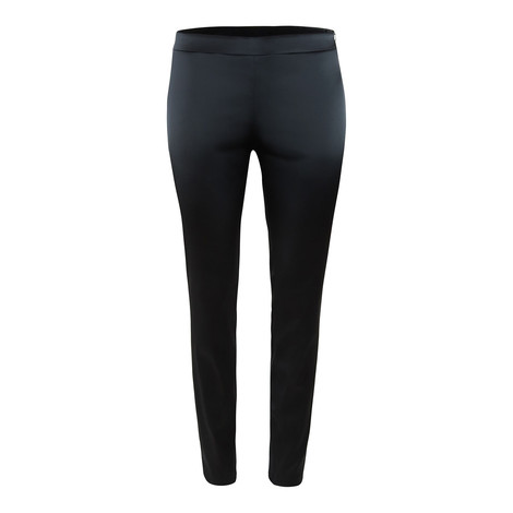 Moschino Boutique Black Satin Trouser with Zip