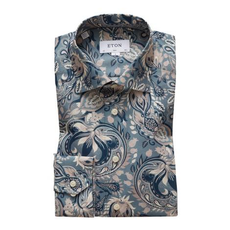 Eton Slim Fit Bold Paisley Print Shirt