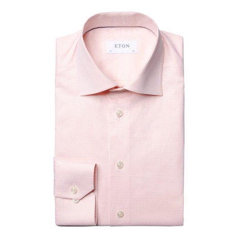Eton Contemporary Fit Ripple Shirt