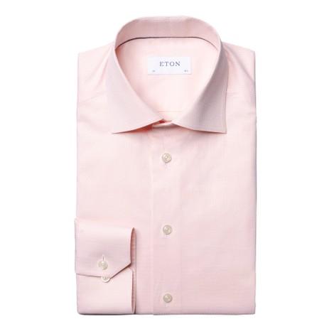 Eton Slim Fit Ripple Shirt
