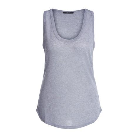 Set Lurex Vest in Silver