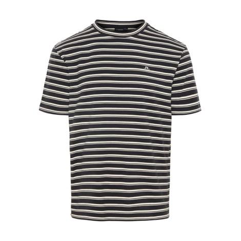 J.Lindeberg Charles-Plain Stripe T-shirt