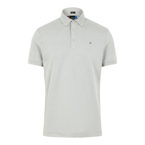 J.Lindeberg Stan Reg Fit-Club Pique Polo Shirt
