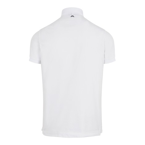J.Lindeberg Stan Reg Fit-Club Pique Polo Shirt