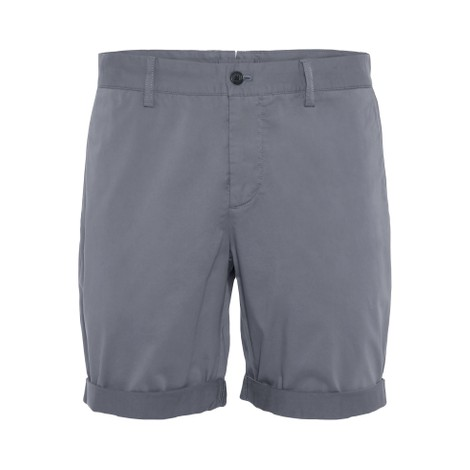 J.Lindeberg Nathan-Super Satin Shorts in Dark Grey