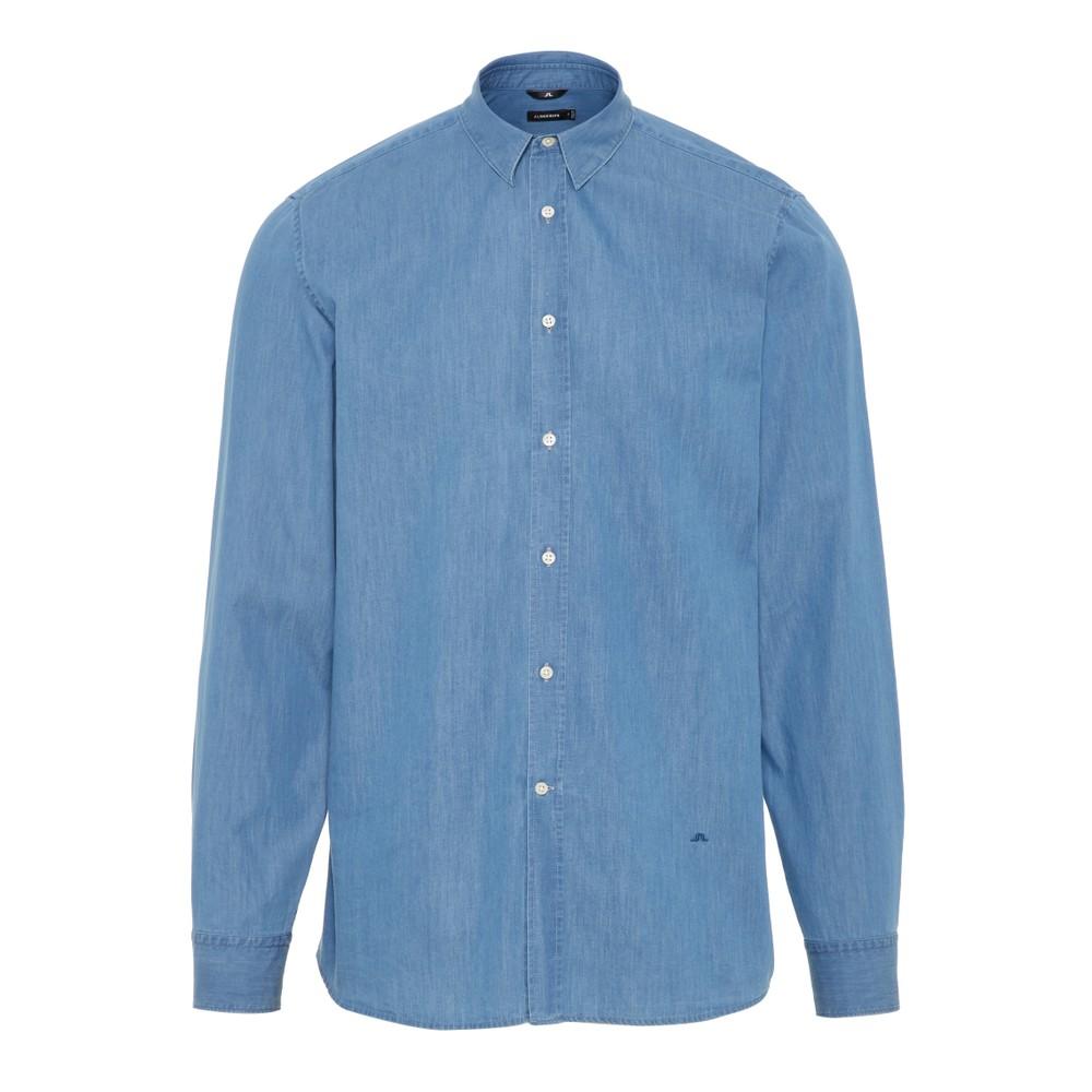 J.Lindeberg Daniel CBU-Washed Shirt Washed Blue