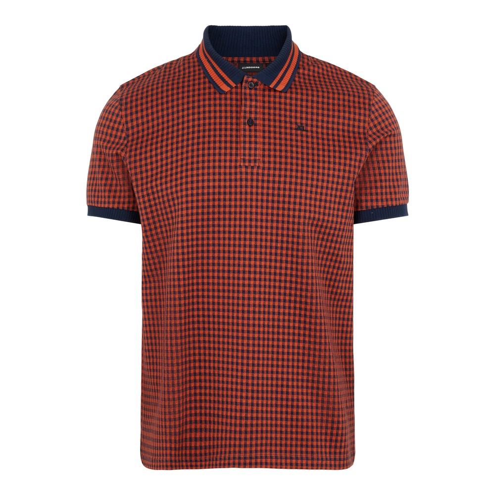 J.Lindeberg Julian-Fine Pique Polo Shirt Navy