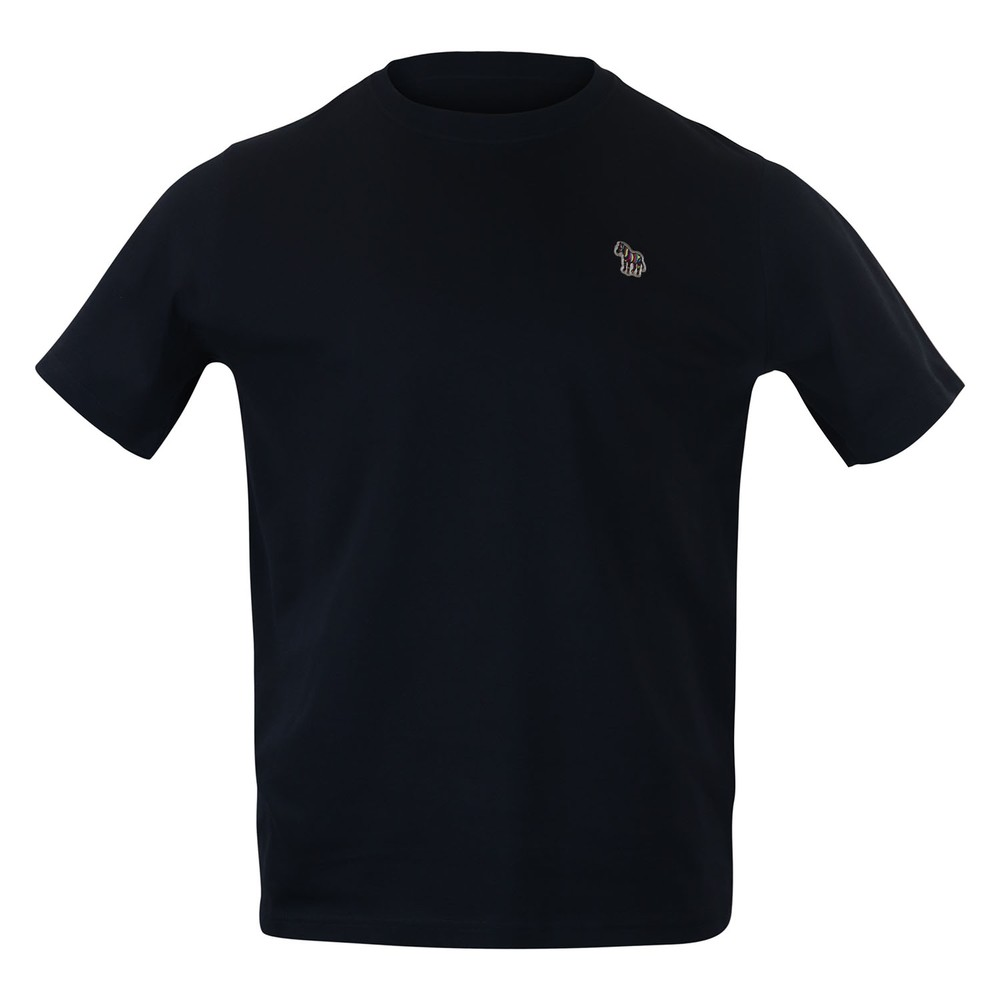 PS Paul Smith Zebra Logo Reg Fit SS T-Shirt Dark Navy