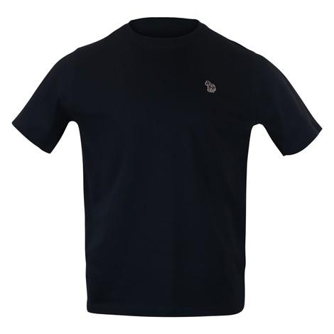 PS Paul Smith Zebra Logo Reg Fit SS Tee  in Dark Navy
