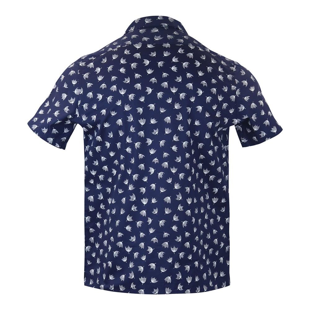 PS Paul Smith Mens Shirt Casual SSLV Dark Navy