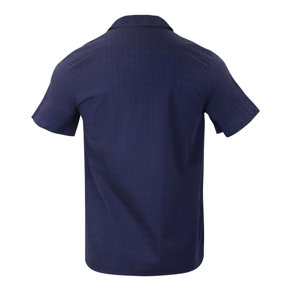 PS Paul Smith Mens SS Casual Fit Shirt Blue