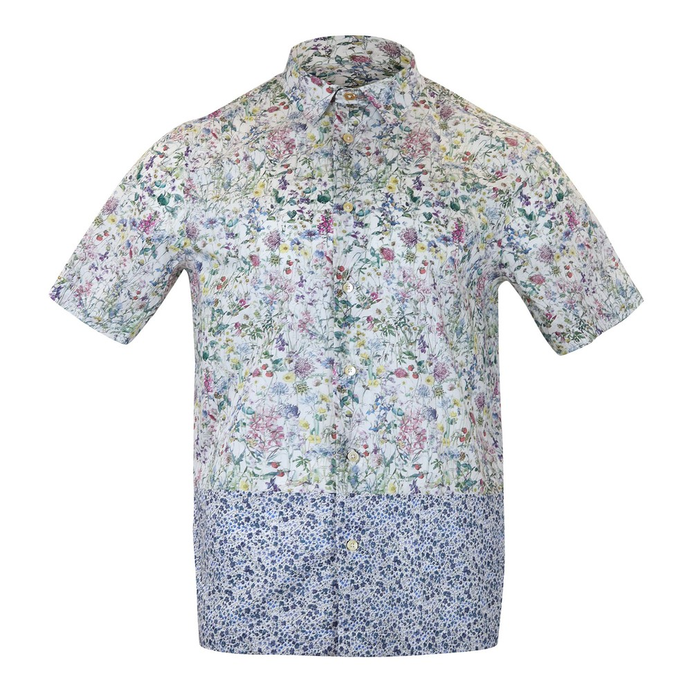 Paul Smith Gents S/S Floral Shirt Multi