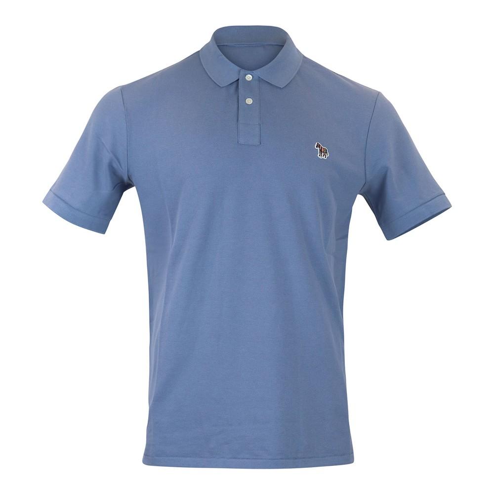 PS Paul Smith Mens Reg Fit SS Polo Shirt Light Blue