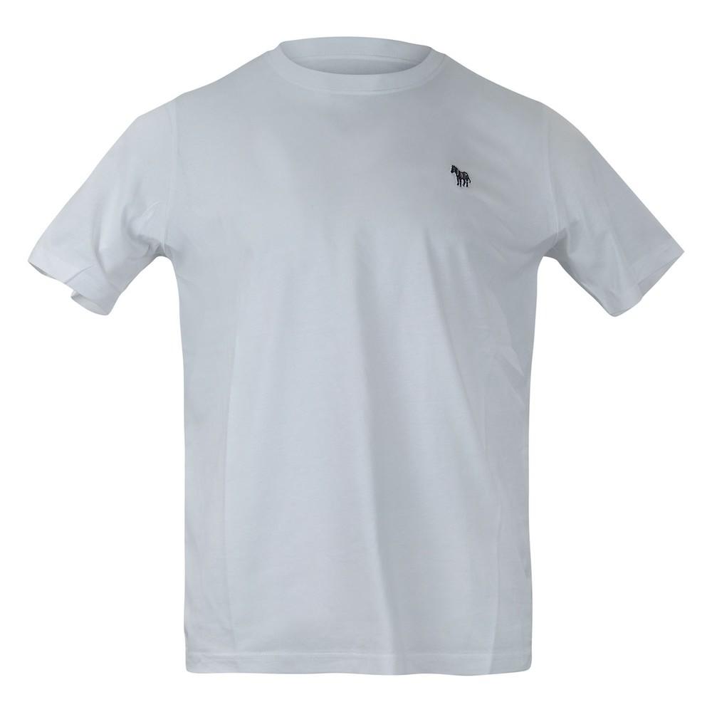 PS Paul Smith Zebra Logo Reg Fit SS Tee White
