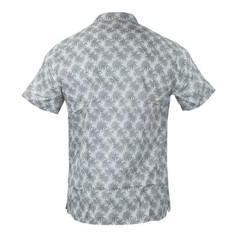 PS Paul Smith Palm Print Casual Shirt